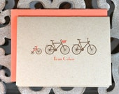 Bikes, Bicycles, Baby, Baby Bike Announcements, Baby Thank You Cards, Baby Announcements, New Baby Cards, Bicycles, Tricycles - Set of 40