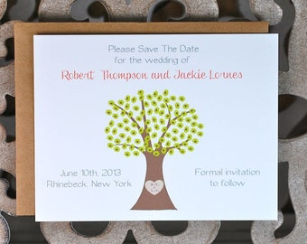 Save The Date, Tree Save The Dates, Names Carved In Tree, Wedding Save The Dates, Hearts, Trees, Outdoor Weddings, Affordable Wedding