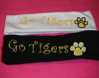 Go Tigers  Headband