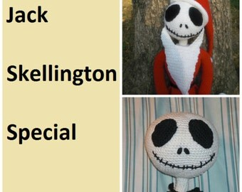 Jack Skellington Crochet PATTERN Special