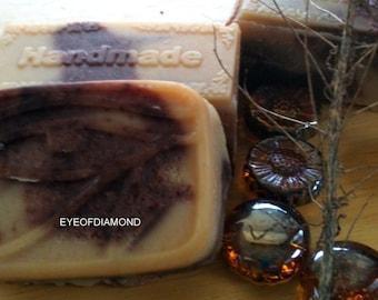 Sandalwood Goat Milk Soap 4.5oz bar