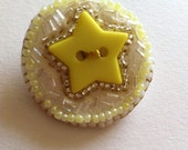 Made with love x Superstar art pin brooch