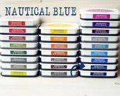 Large MEMENTO  raised dye ink pad NAUTICAL BLUE
