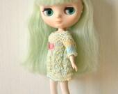 Pastel Rainbow Dress Set for Middie Blythe