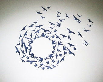 Popular items for bird wall decor on Etsy