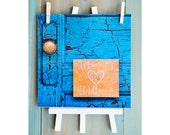 Come Live in My Heart 8x8 Fine Art Print Canada Antique Door Turquoise Gold