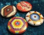 Textiles Native American Button Set