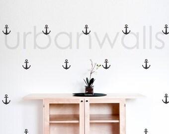 Vinyl Wall Sticker Decal Art - Anchors