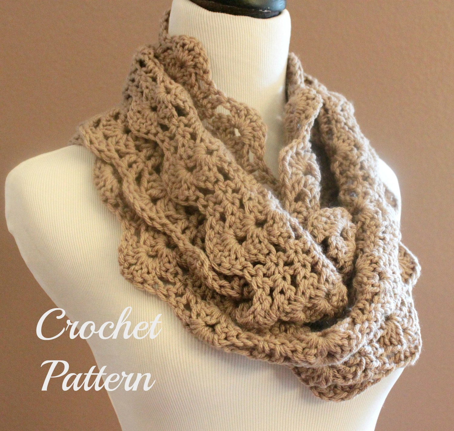 Crocheting Infinity Scarf For Beginners : Request a custom order and have something made just for you.