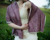 Violet Fairy Shawl