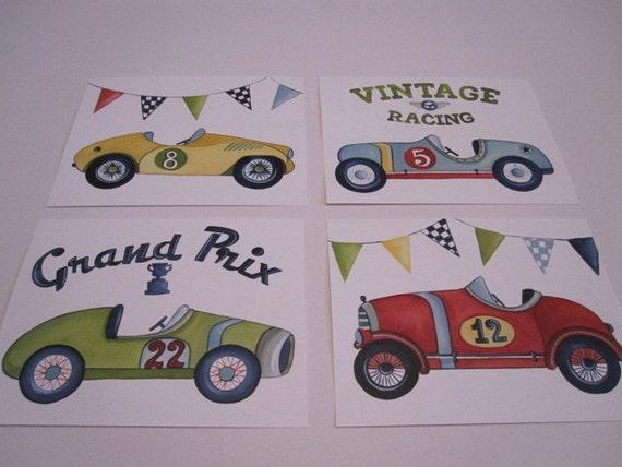 Vintage Racing - Auto Art Gallery, from Garage Art LLC