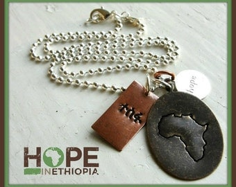 Hope in Ethiopia Tesfa Necklace