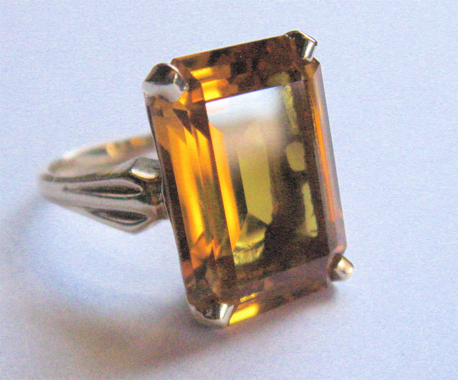 Vintage Kimberly Of Albert Lorsch Amp Co Ny Signed Emerald Cut