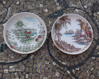 Vintage Johnson Brothers Butter/Trinket Dishes - Made in England