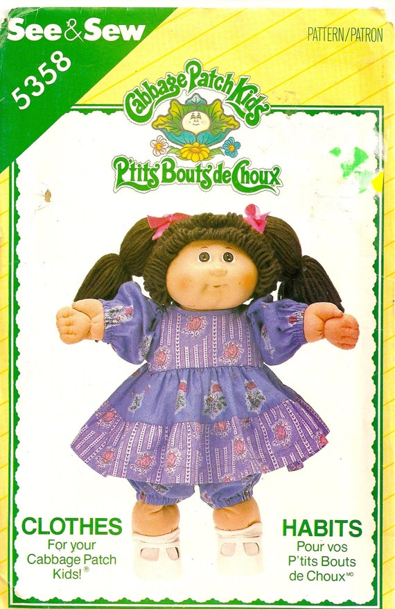 Free download program Free Sewing Pattern Cabbage Patch ...