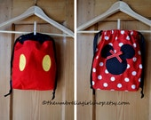 READY TO SHIP Small Mickey  Mouse Back Pack