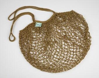 Olive Net Shopping Bag