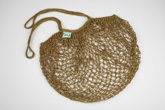 Olive Net Shopping Bag