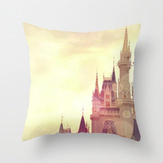 Cinderella Castle Photography Cinderella Castle Pillow
