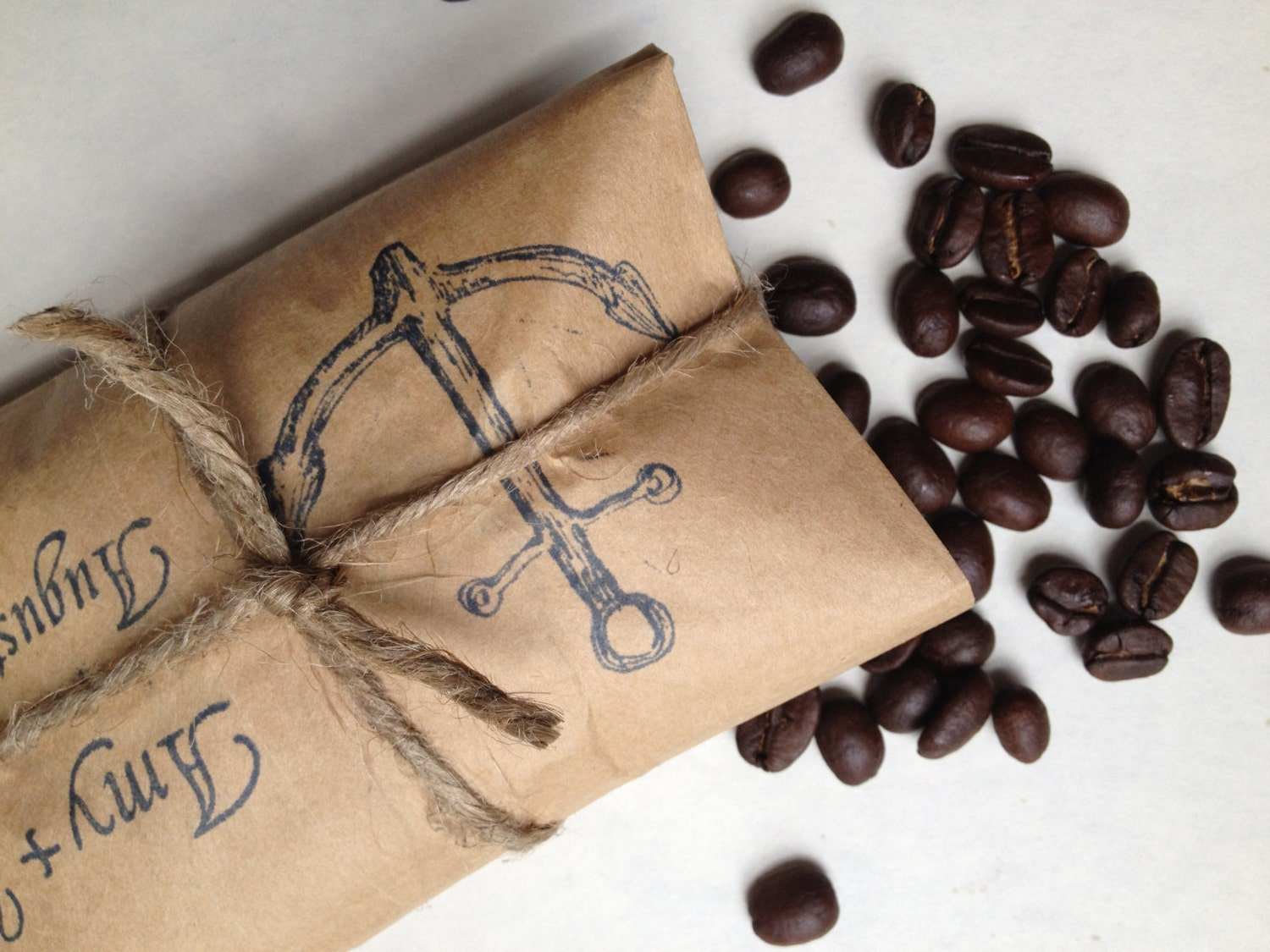Beach Wedding Favors. Coffee Favors For A Nautical Wedding