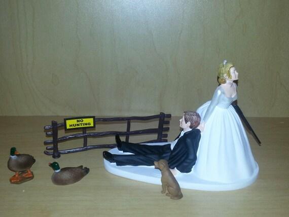 Duck Hunting Wedding Cake Topper Groom's Cake