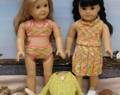 BY the SEA SHORE Doll Knitting Pattern