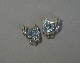 Vintage Sky Blue  Earrings
