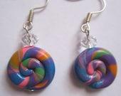 Lollipop Swirl Earrings