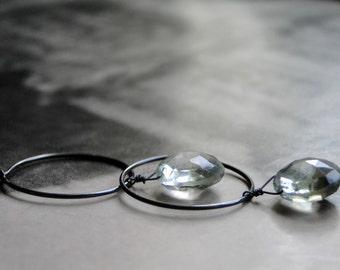 Jewelry, Earrings, Dangle Earrings, Drop Earrings, Mother's Day Gift, Gemstone Earrings, Amethyst, Sterling Silver Accessories