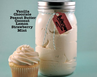 Buttercream Frosting- 1 Quart- 32 oz.  Choose Your Flavor