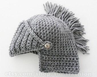 crochet hat boyfriend gift Mens Knight Helmet Hat Crochet Slouch Mens Convertible Beanie Handmade Winter Men Snowboard Ski Hat unisex