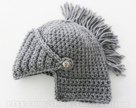 mens winter boyfriend gift Mens Knight Helmet Hat Crochet Slouch Mens Convertible Beanie Handmade Winter Men Snowboard Ski Hat unisex