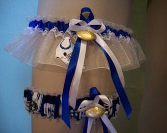 Colts Wedding Garter Set