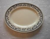 SALE LISTING Vintage Homer Laughlin Blue and White Restaurant Ware Serving Platter