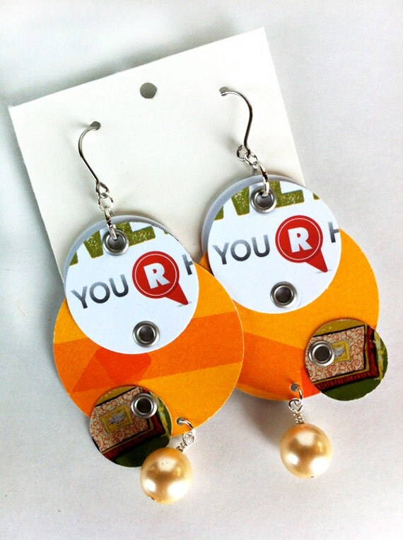 Your Are Here Raleigh Earrings