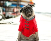 The Red Cabin Dog Peacoat