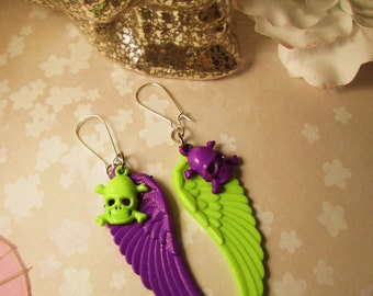 Devil's Neon Delight Earrings
