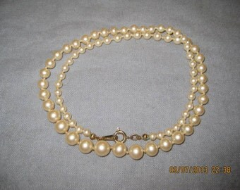 """19"""" Pearl Necklace"""