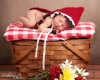 Little Red Riding Hood Photo Prop Cape/Newborn Photo Prop
