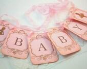 Ballerina Banner Garland Baby Shower Decoration Photo Prop