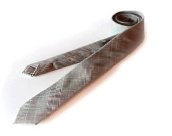 Skinny Wool Tie