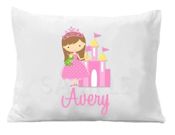 Kids Bedding , Princess Pillow Case , Kids Pillow Case