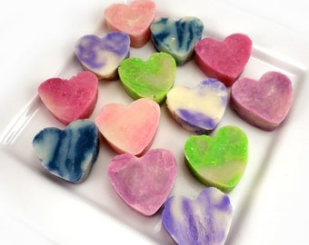 Soap Hearts for Favors