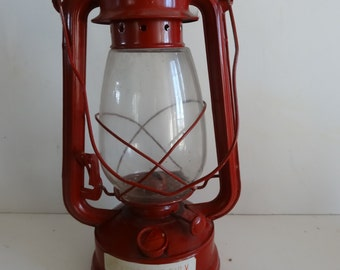 Vintage Red American Camper Kerosene Lantern