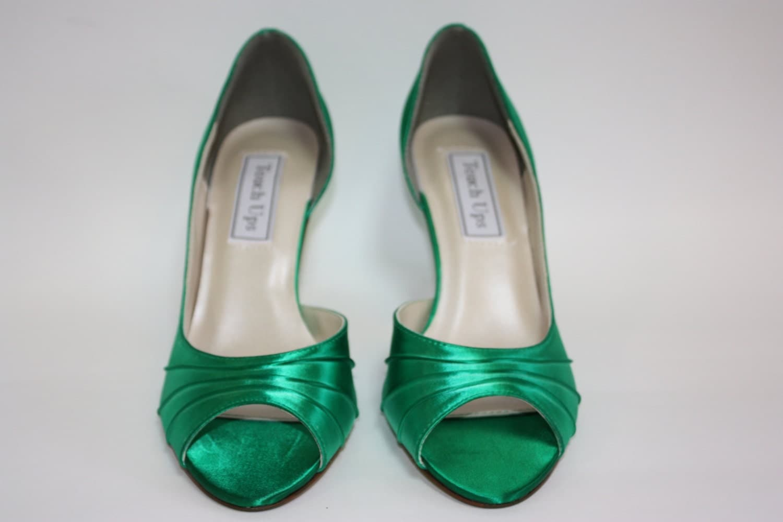 Dyeable Wedding Shoe Custom Color Wedding Shoe Choose Over