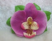 Summer Pink Orchid Clip