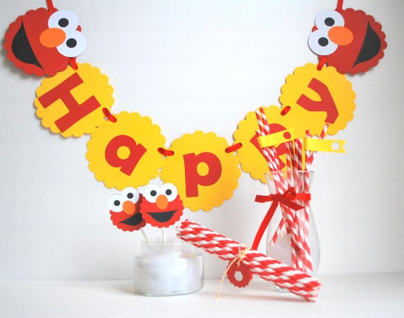 Elmo Birthday Party Ideas to create the perfect Elmo Birthday Party by MariaPalito