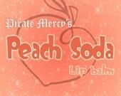Peach Soda Lip Balm