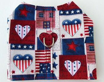 Patriotic Harness-Vest, Adjustable