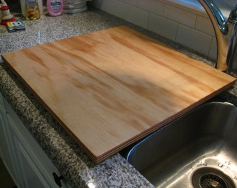 Custom Kitchen Sink Cover.